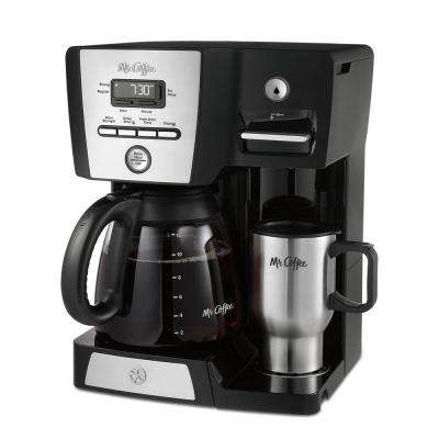 12-Cup Versatile Brew Programmable Coffee Maker and Hot Water Dispenser