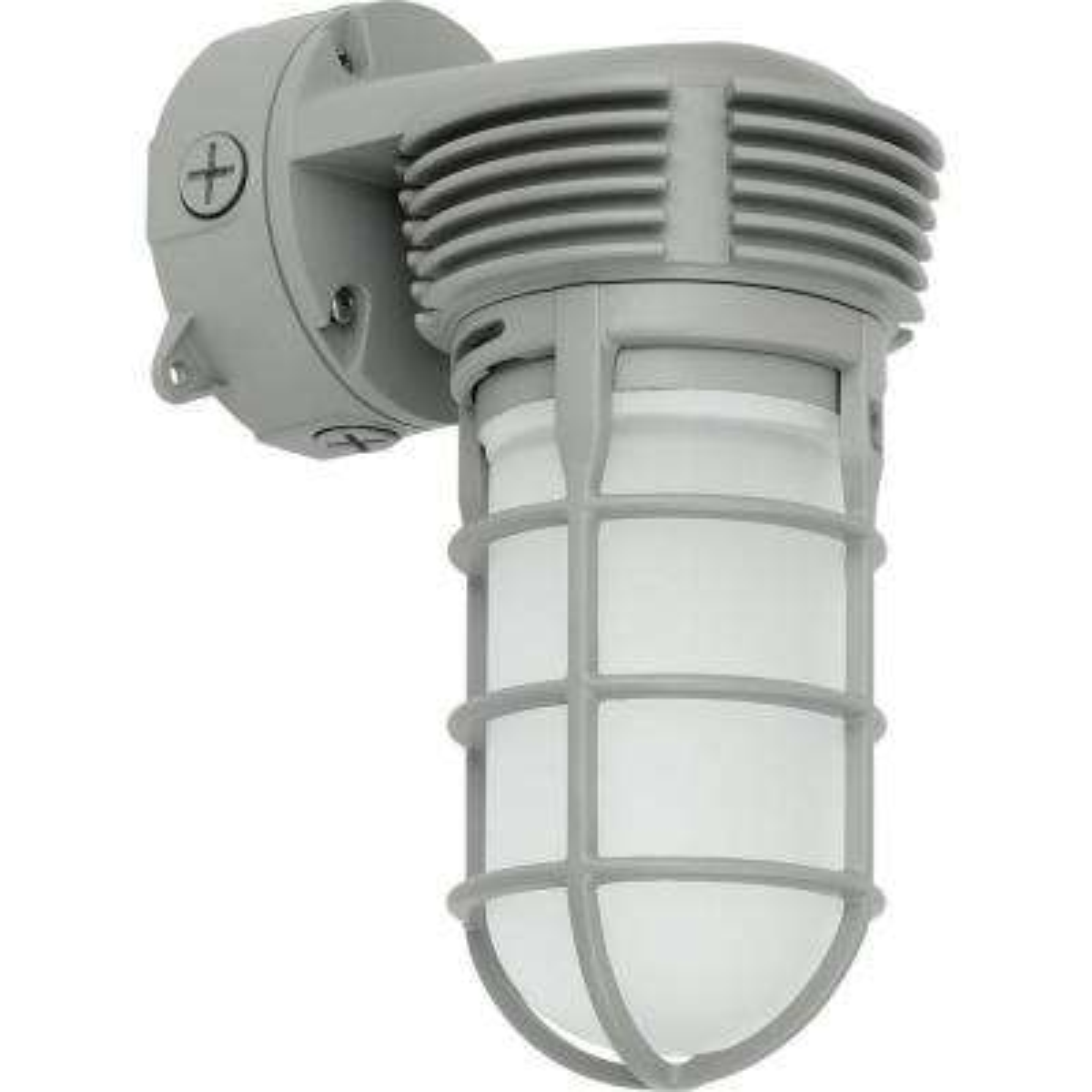 PCVTW Collection 11 -Watt Gray Integrated LED Wall Light
