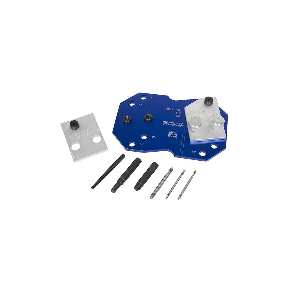 Lisle Manifold Drill Template Set For Ford