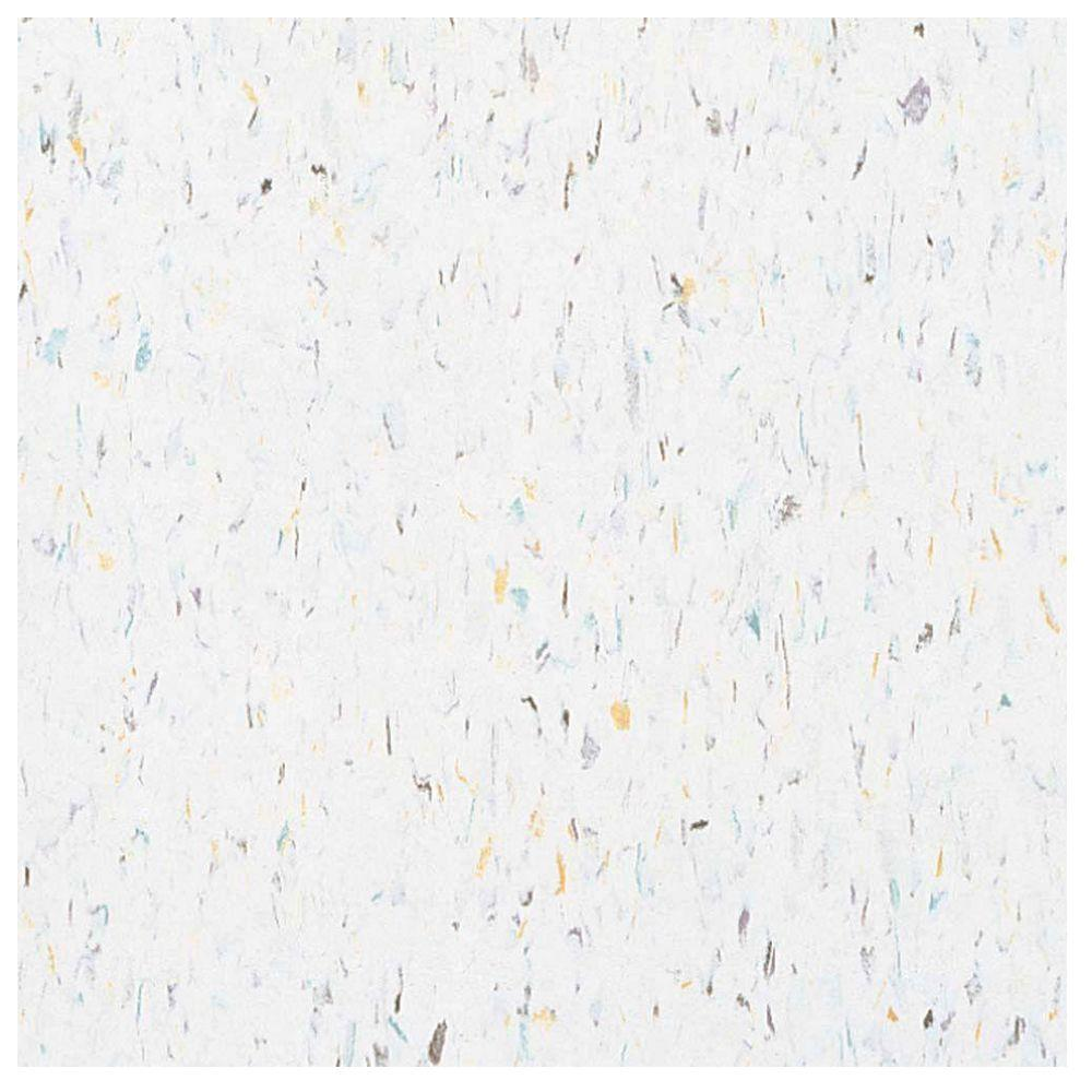 Excelon Multi 12 in. x 12 in. Harlequin White Vinyl Tile