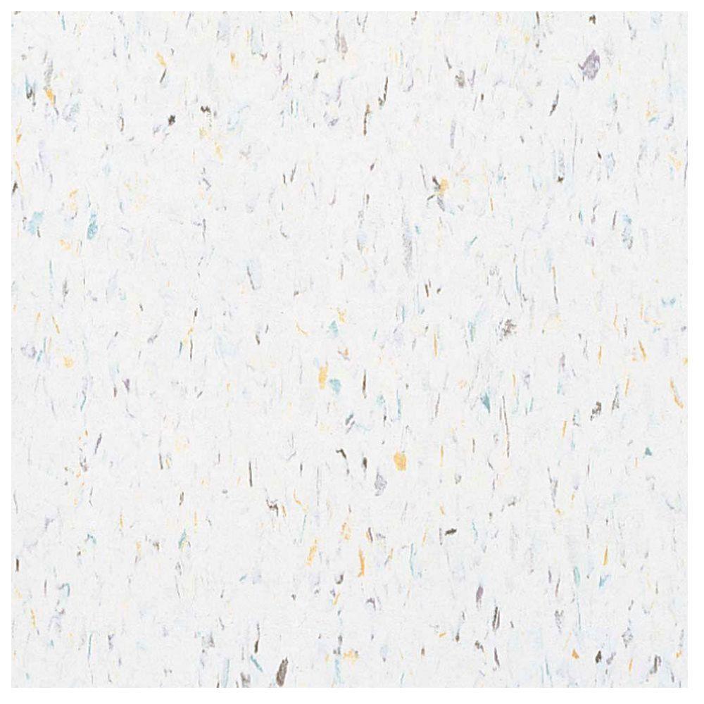 Harlequin White Vinyl Tile