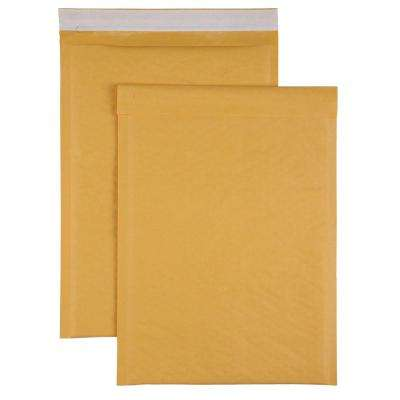 Bubble Cushioned Mailers Size 4 Envelope, Kraft (100-Carton)