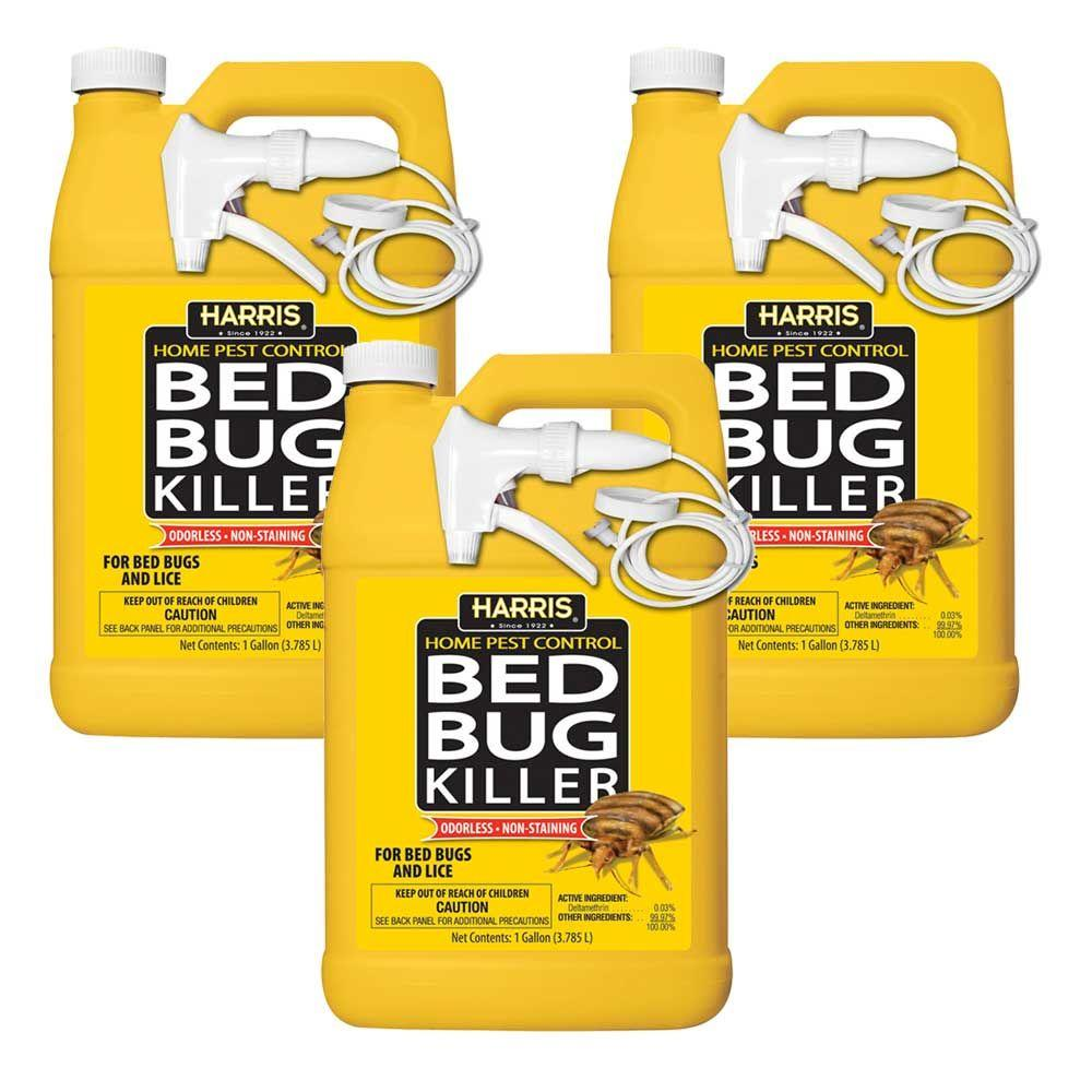 Harris 1 gal Bed Bug Killer 3PackHBB1283PK The Home Depot