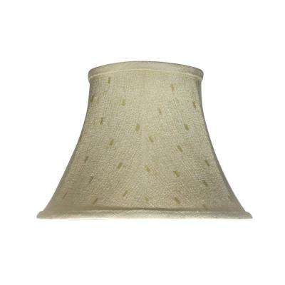 13 in. x 9.5 in. Camel Bell Lamp Shade