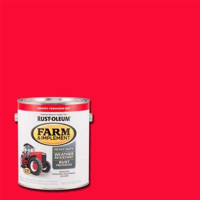 1 gal. Farm and Implement Massey Ferguson Red Paint (Case of 2)