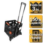 150 lbs. 15 in. Capacity Grand Pack-N-Roll Utility Cart