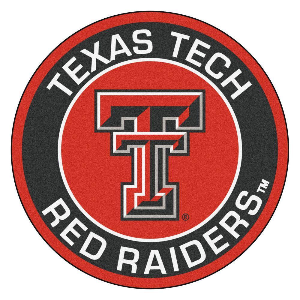 Fanmats Ncaa Texas Tech University Black 2 Ft 3 In X 2