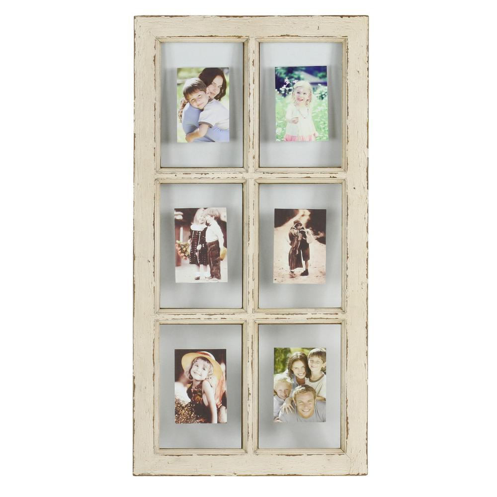 Kate Faux Window Pane Picture Frame-5698 - The Home Depot