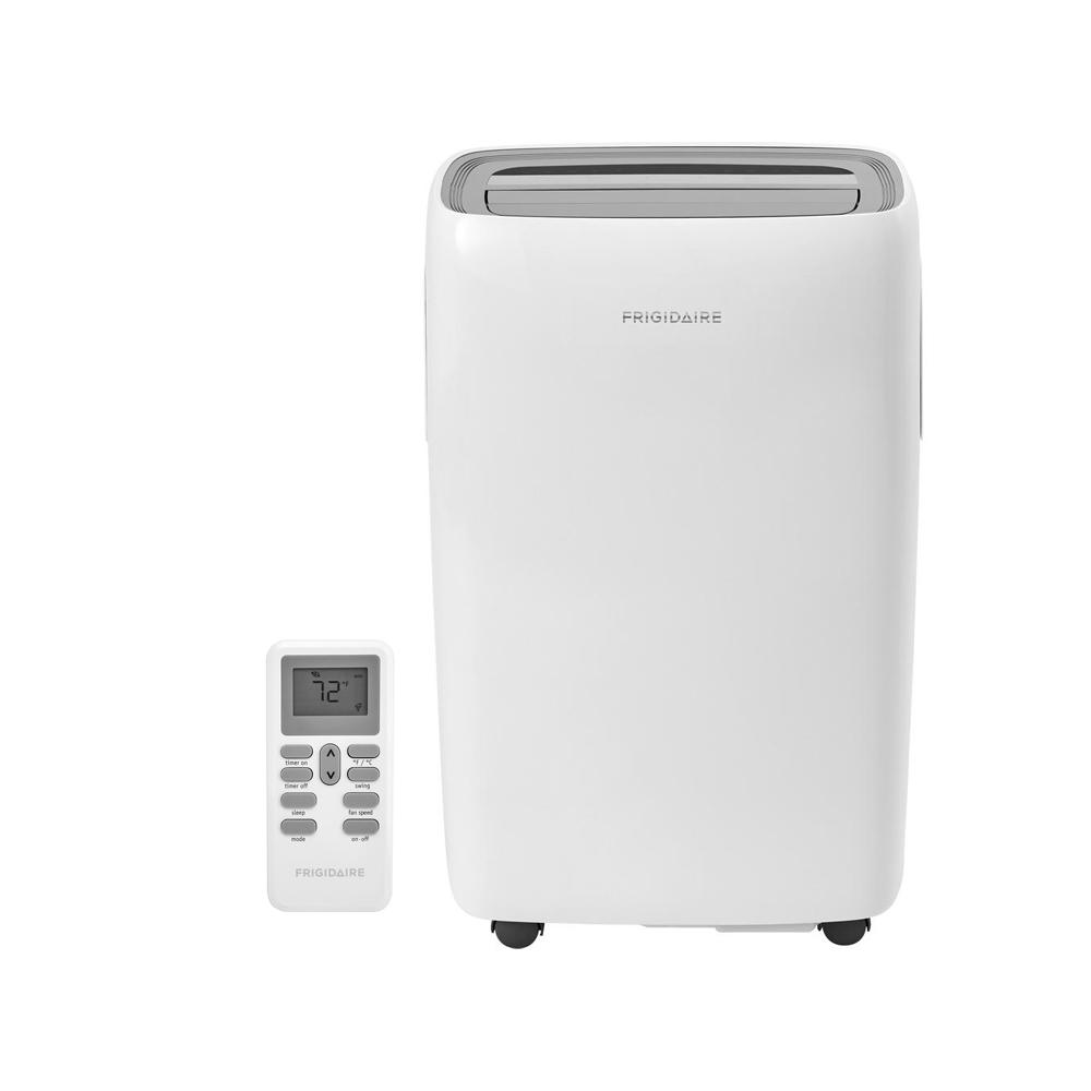 Frigidaire 10,000 BTU 3-Speed Portable Air Conditioner with Dehumidifier  and Remote for 450 sq  ft