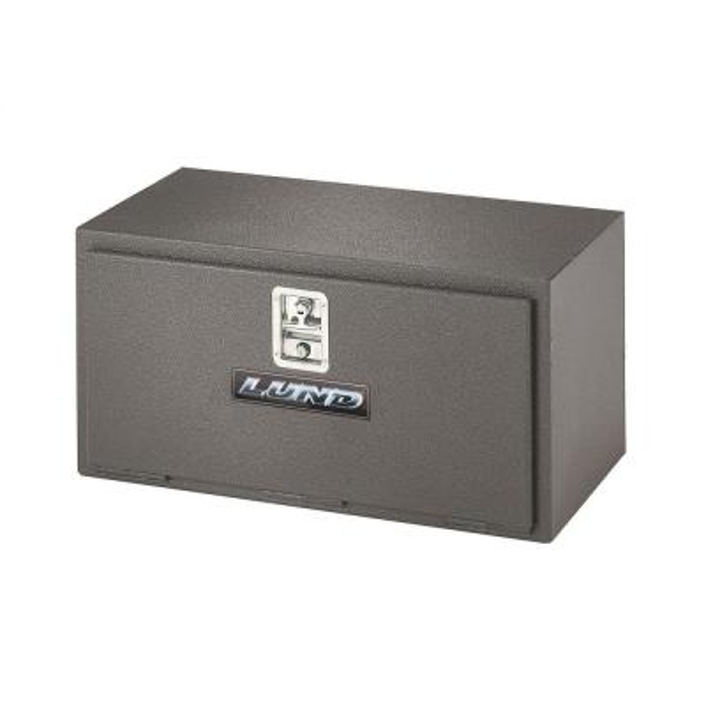 Black 76224 Lund 24 Underbody Truck Tool Box Steel