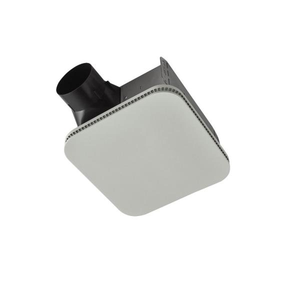 Roomside Series 80 CFM Ceiling Bathroom Exhaust Fan with CleanCover, ENERGY STAR