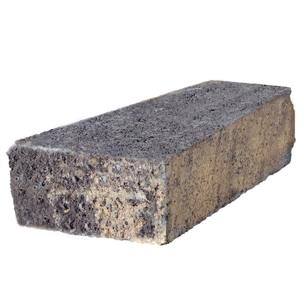 null RockWall 2 in. x 3.34 in. x 9 in. Marine Concrete Wall Cap