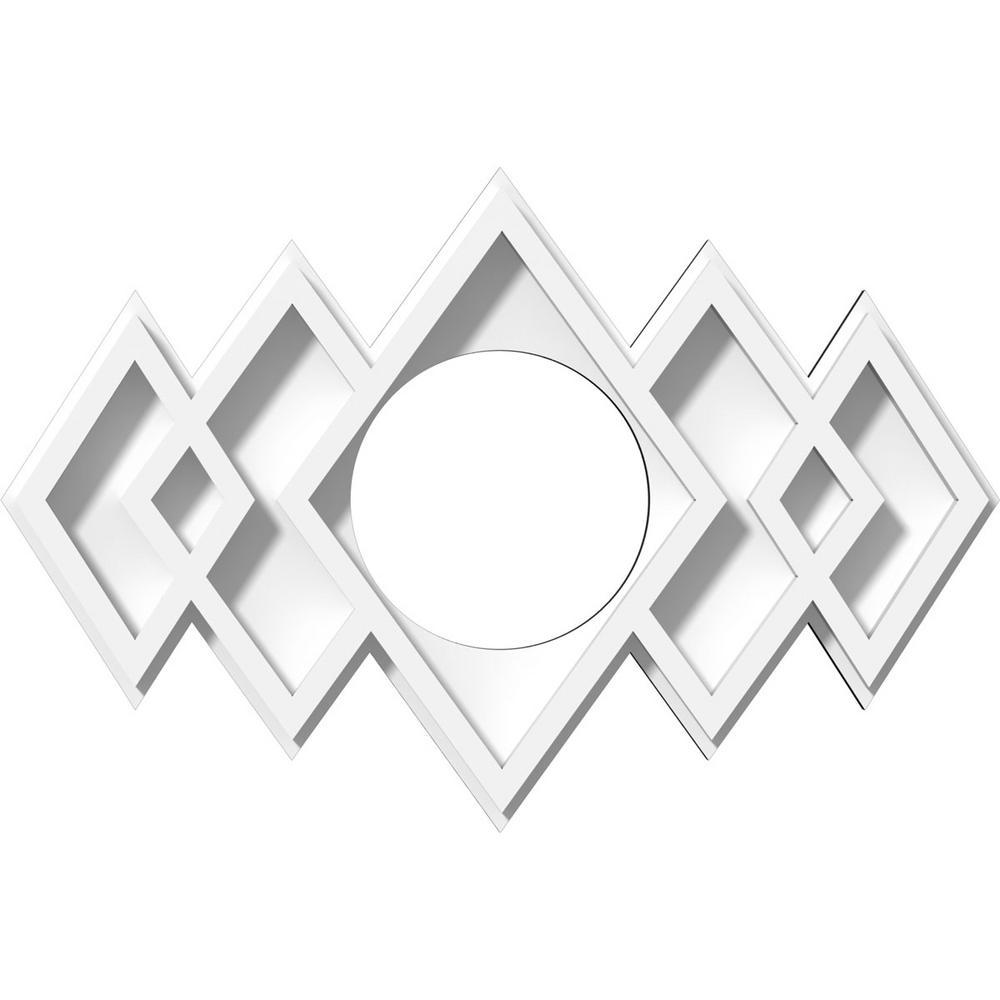 Zoes Kitchen Logo: Ekena Millwork 6.62 In. X 6.62 In. X 1 In. Zoe