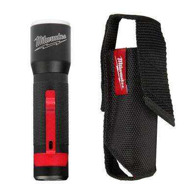 325-Lumen LED Aluminum Flashlight with Holster