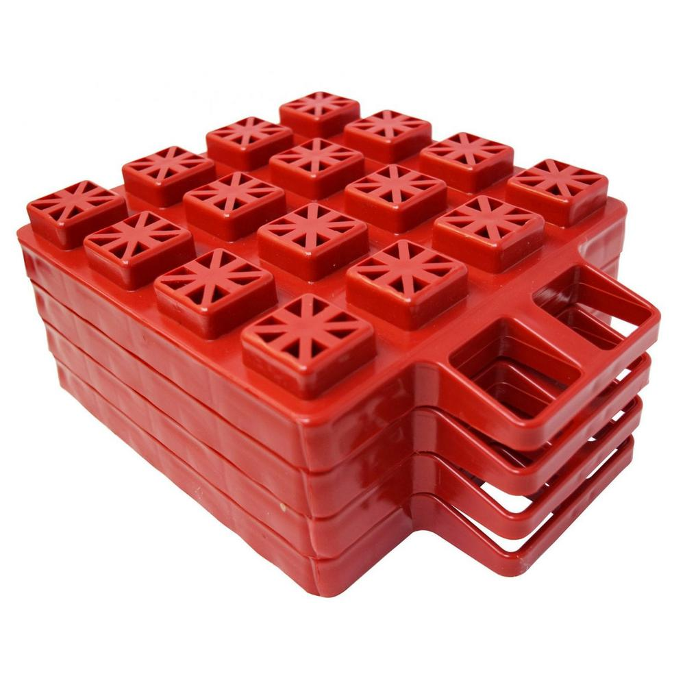Valterra Stackers Leveler / Jack Pad - 4 Pack