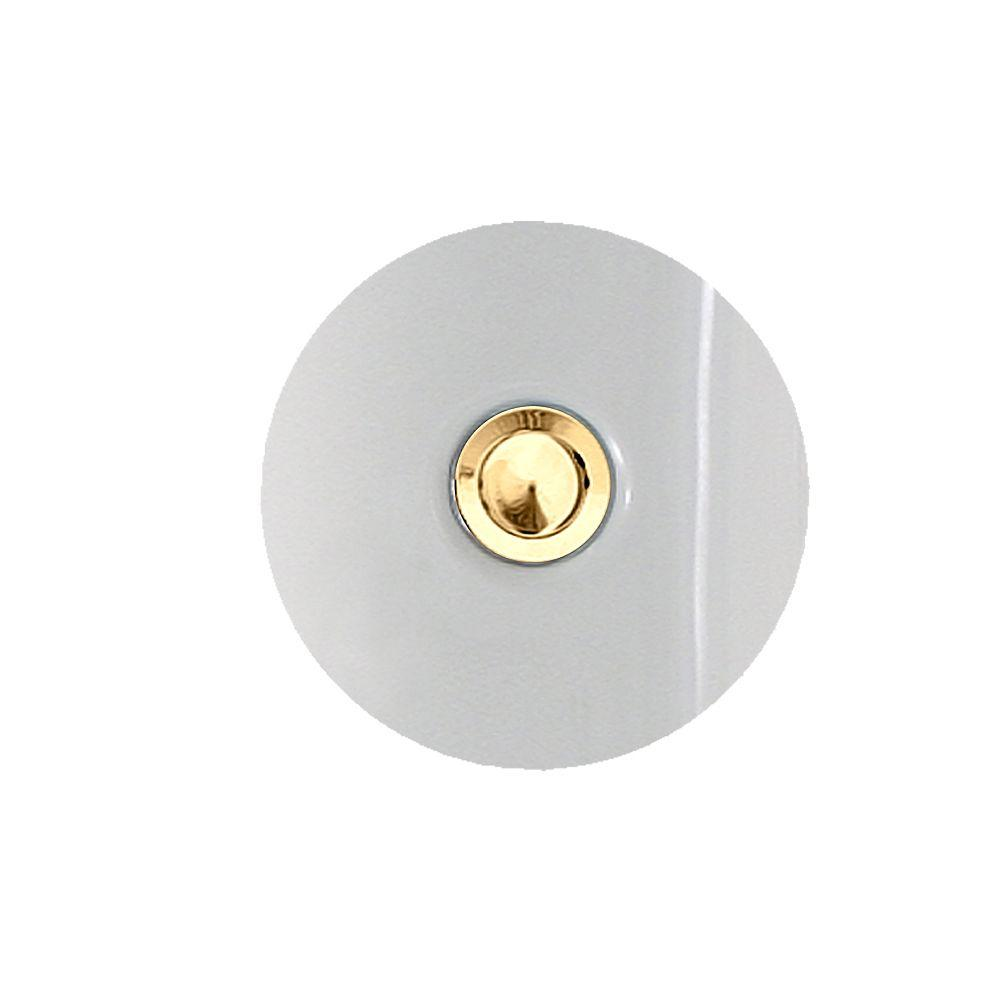 American Standard Town Square Bath Drain in Polished Brass