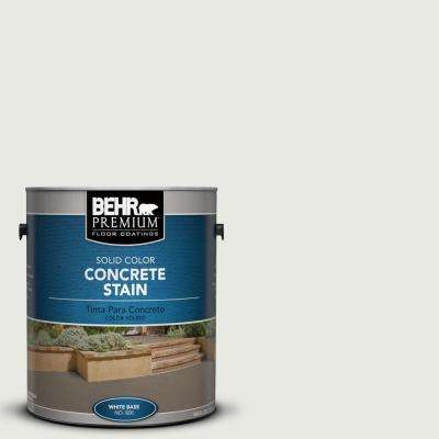 1 gal. #PFC-66 Ice White Solid Color Interior/Exterior Concrete Stain
