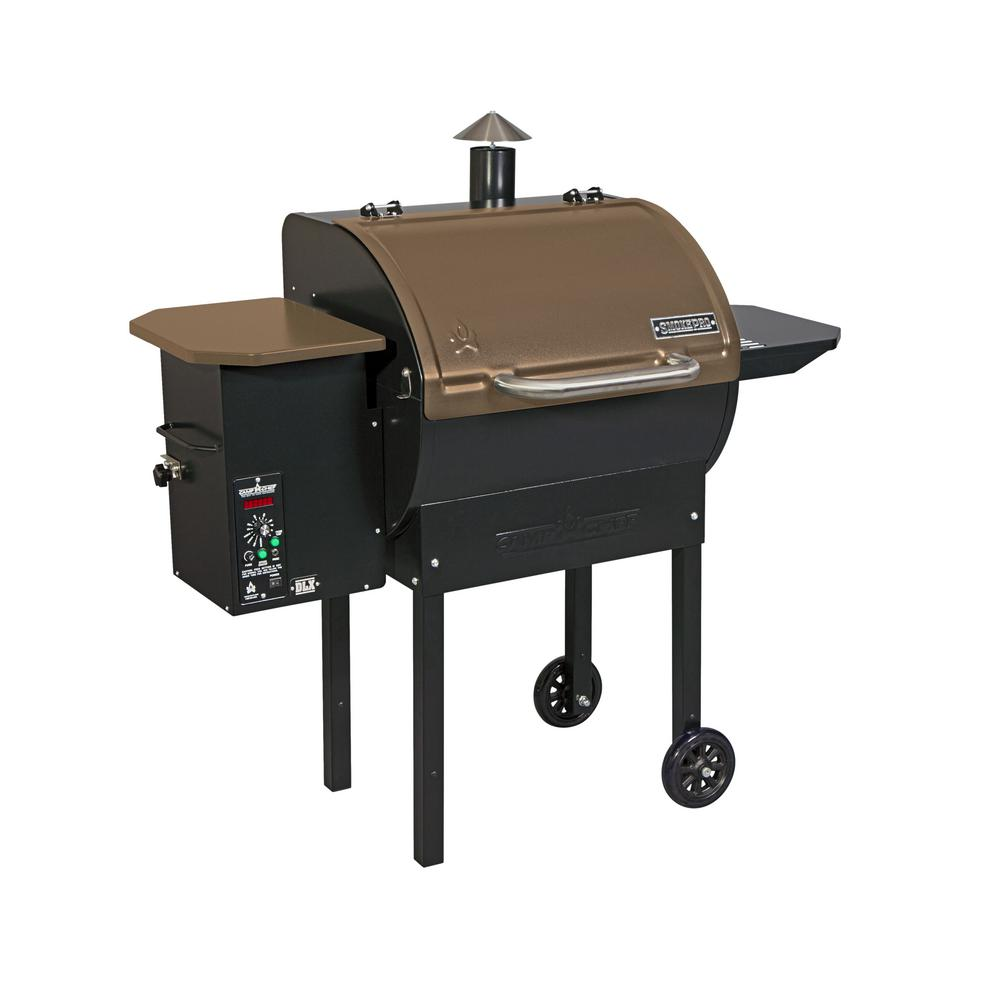 Camp Chef SmokePro DLX Pellet Grill in Bronze