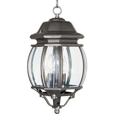 Crown Hill 3-Light Rust Patina Outdoor Hanging Lantern