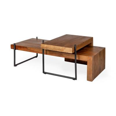 L Shaped Coffee Tables Accent The Home Depot