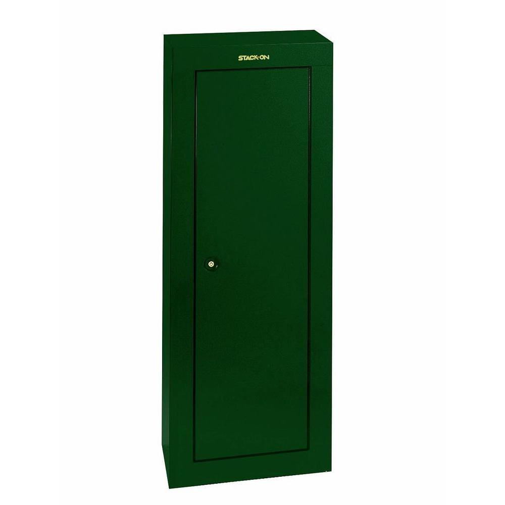 Stack-On 8-Gun 6.02 cu. ft. Key Lock Security Cabinet-GCG-908-DS ...