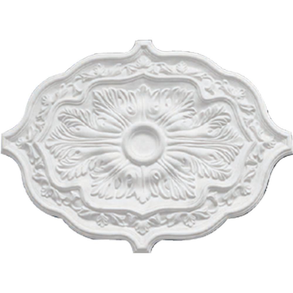 36 in. OD x 1-1/2 in. P Pesaro Ceiling Medallion