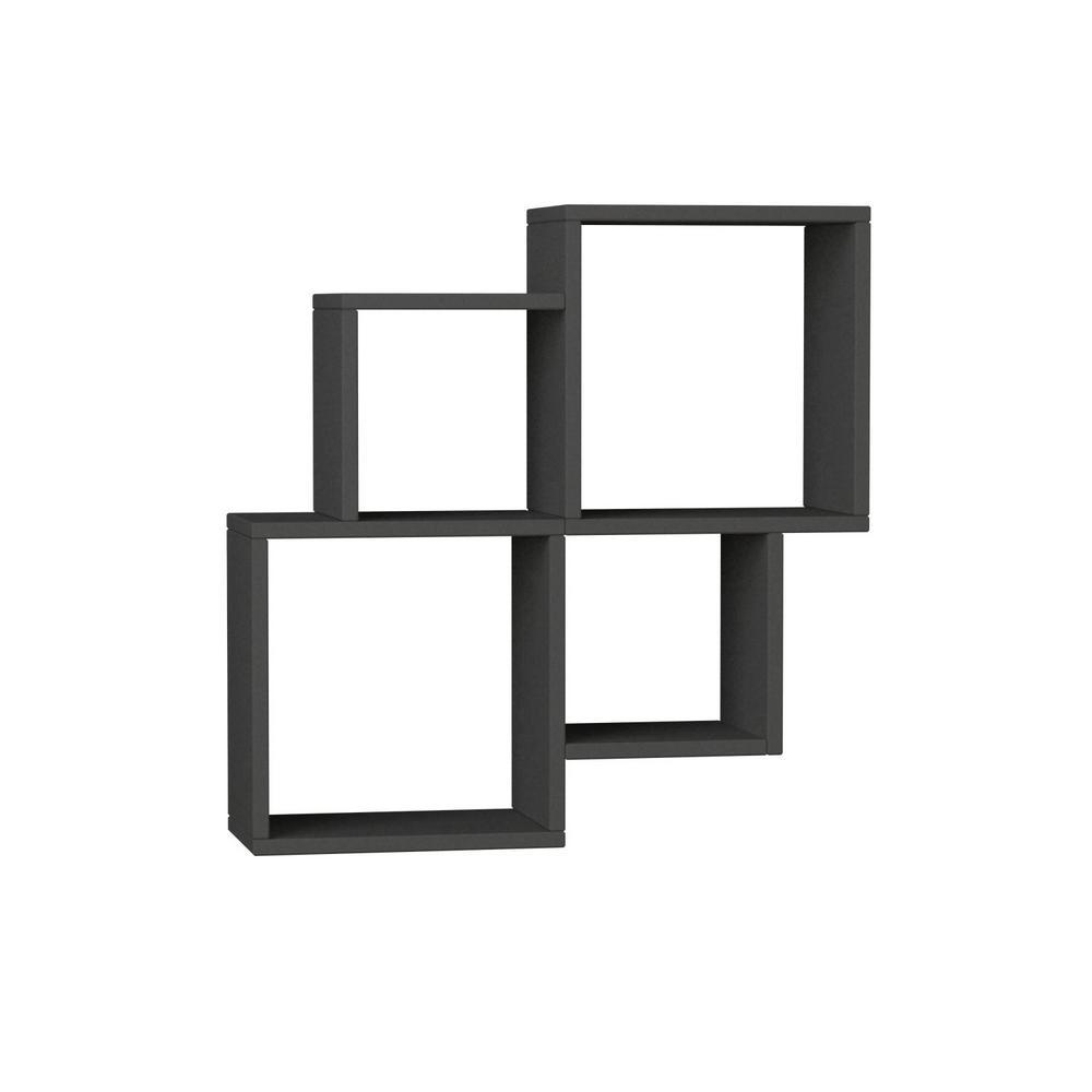 Ada Home Decor Watkins Anthracite Mid Century Modern Wall Shelf Wiring Diagram