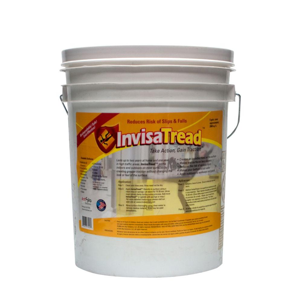 InvisaTread 5 Gal. Slip Resistant Treatment for Tile and Stone