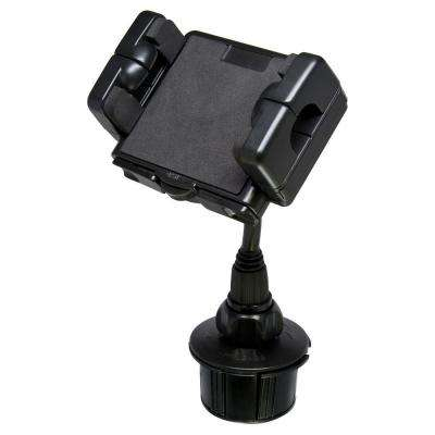 Cup Holder Mounting Kit for Mobile Device, Black