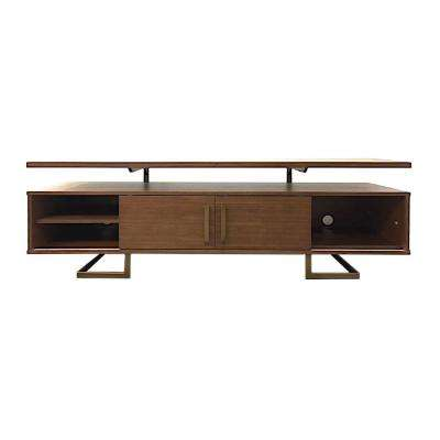 Jordan Media Medium Walnut Console Table