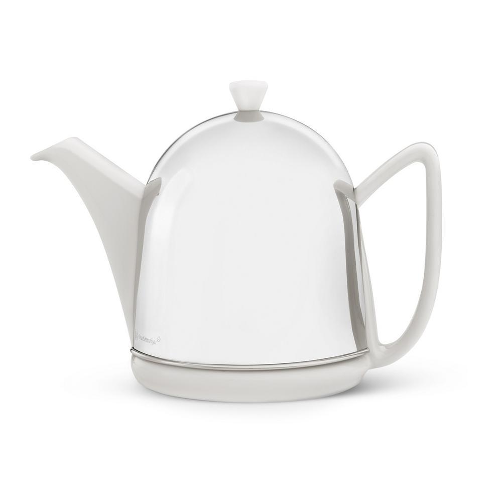 34 fl. oz. Spring White Cosy Manto Teapot