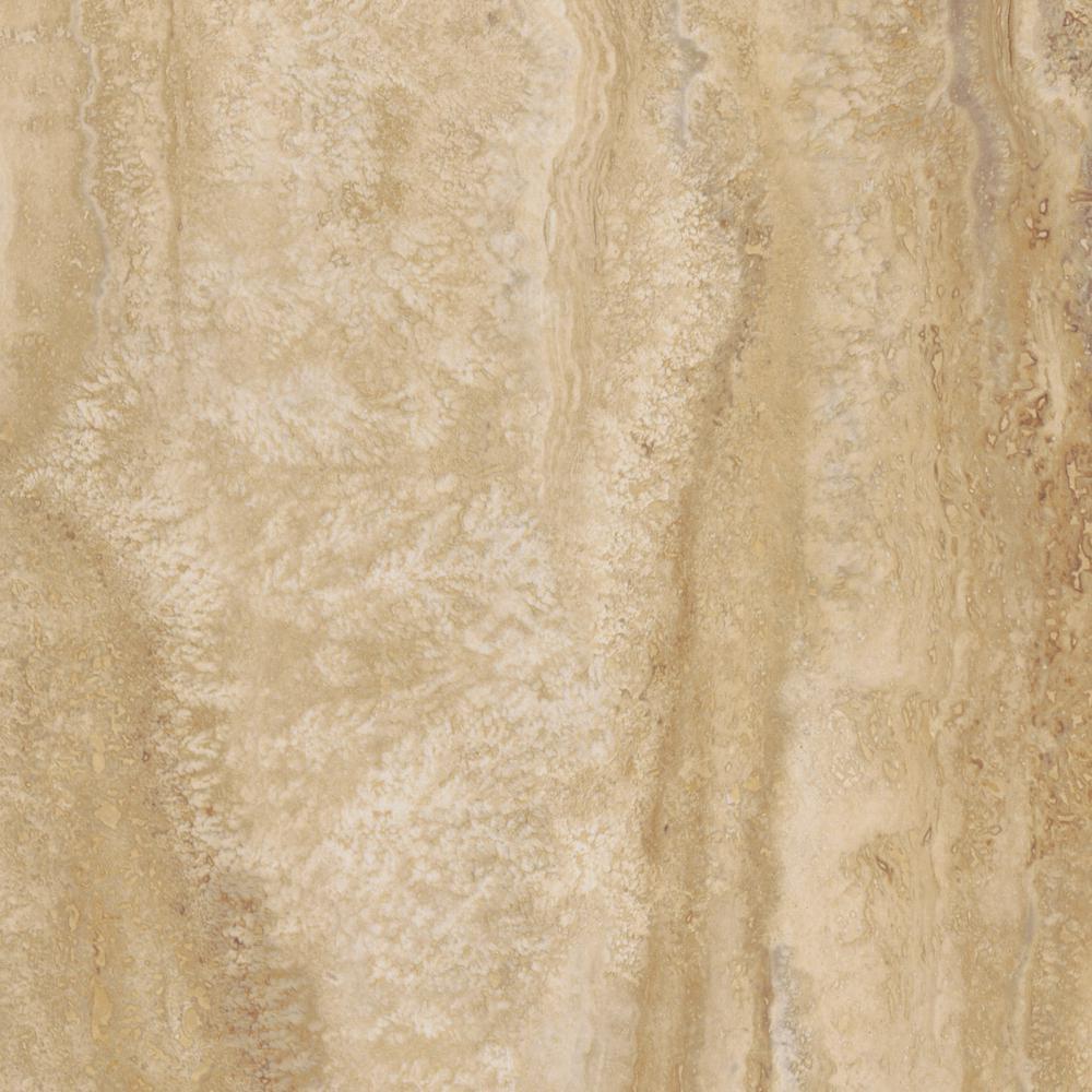 TrafficMASTER Ivory Travertine 12 in. x 24 in. Luxury Vinyl Tile Flooring (24 sq. ft. / case)
