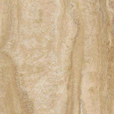 Ivory Travertine 12 in. x 24 in. Luxury Vinyl Tile Flooring (24 sq. ft. / case)