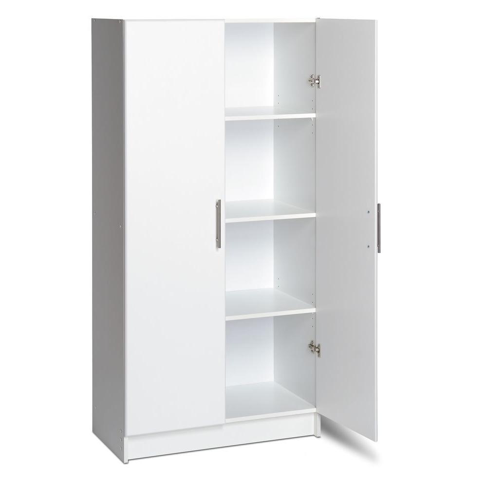 Prepac 32 In Elite Storage Cabinet Wes
