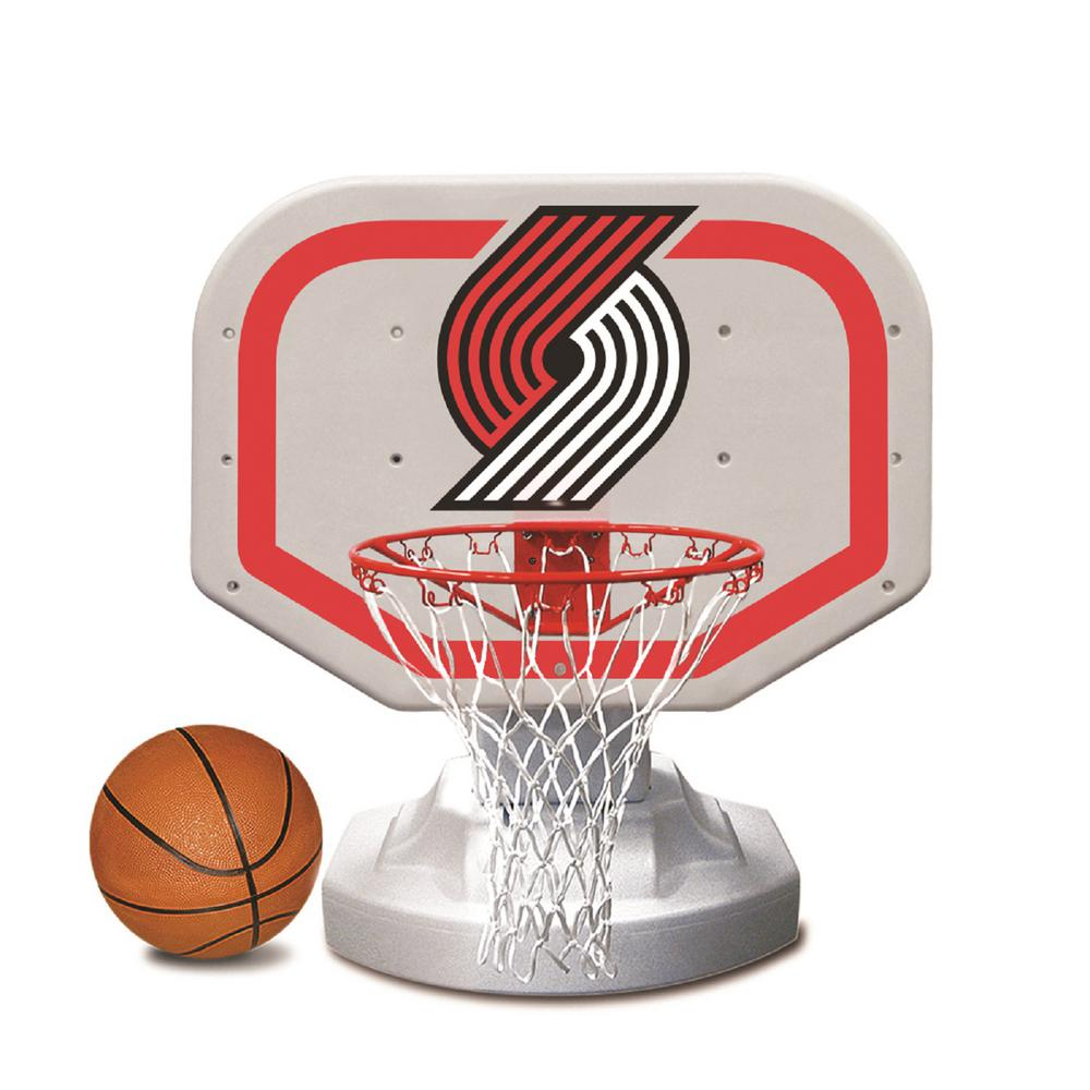 Portland Trail Blazers NBA Competition Swimming Pool Basketball Game