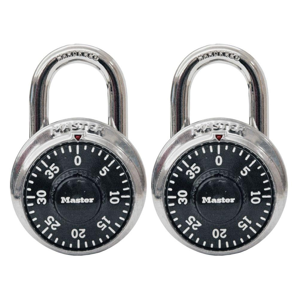 1500T 1-7/8 in. Wide Stainless Steel Preset Combination Padlock with 3/4