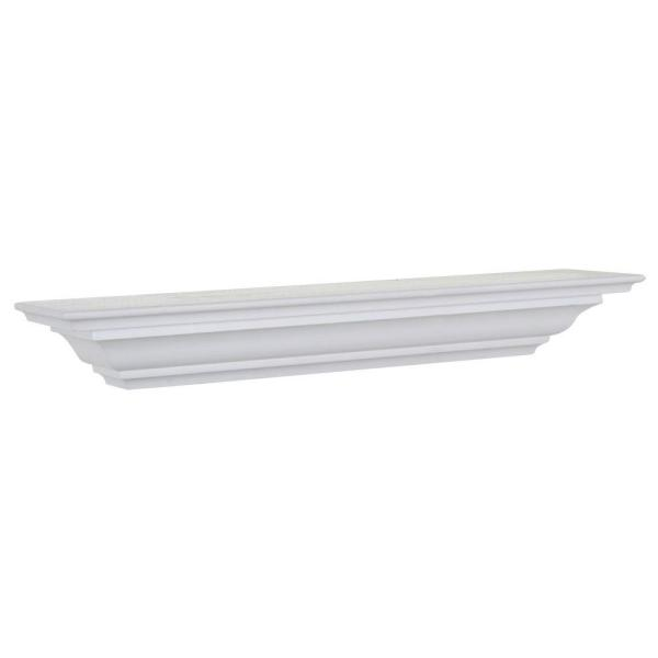 5-1/4 in. D x 60 in. L Crown Moulding Shelf