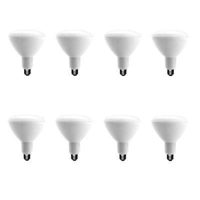 75-Watt Equivalent BR40 Dimmable ENERGY STAR LED Light Bulb Soft White (8-Pack)