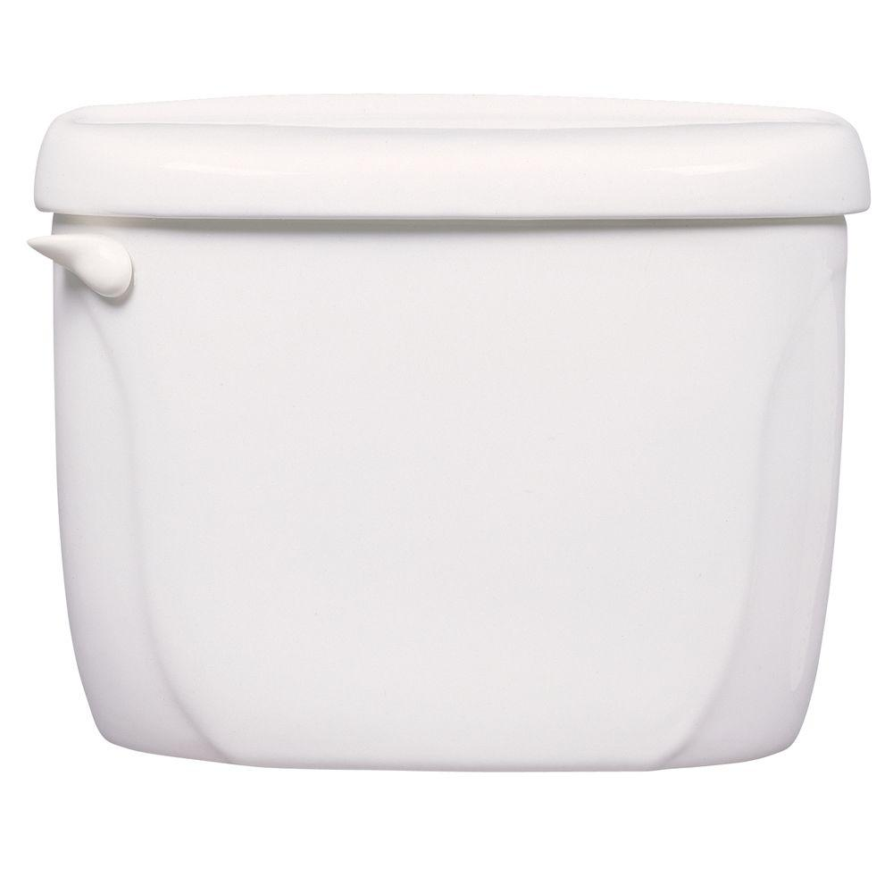 Cadet and Glenwall Tall Height Toilet Tank Cover in White