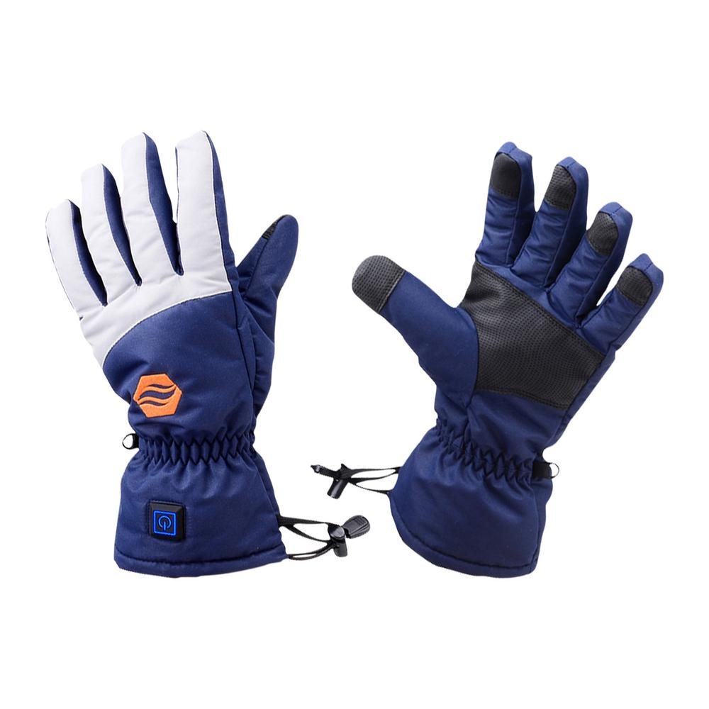 Stay Warm Apparel Large/X-Large Rechargeable Heated Gloves - 3 Level Heated Winter Gloves for Men and Women