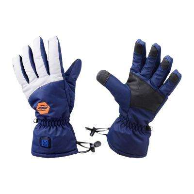 Large/X-Large Rechargeable Heated Gloves - 3 Level Heated Winter Gloves for Men and Women