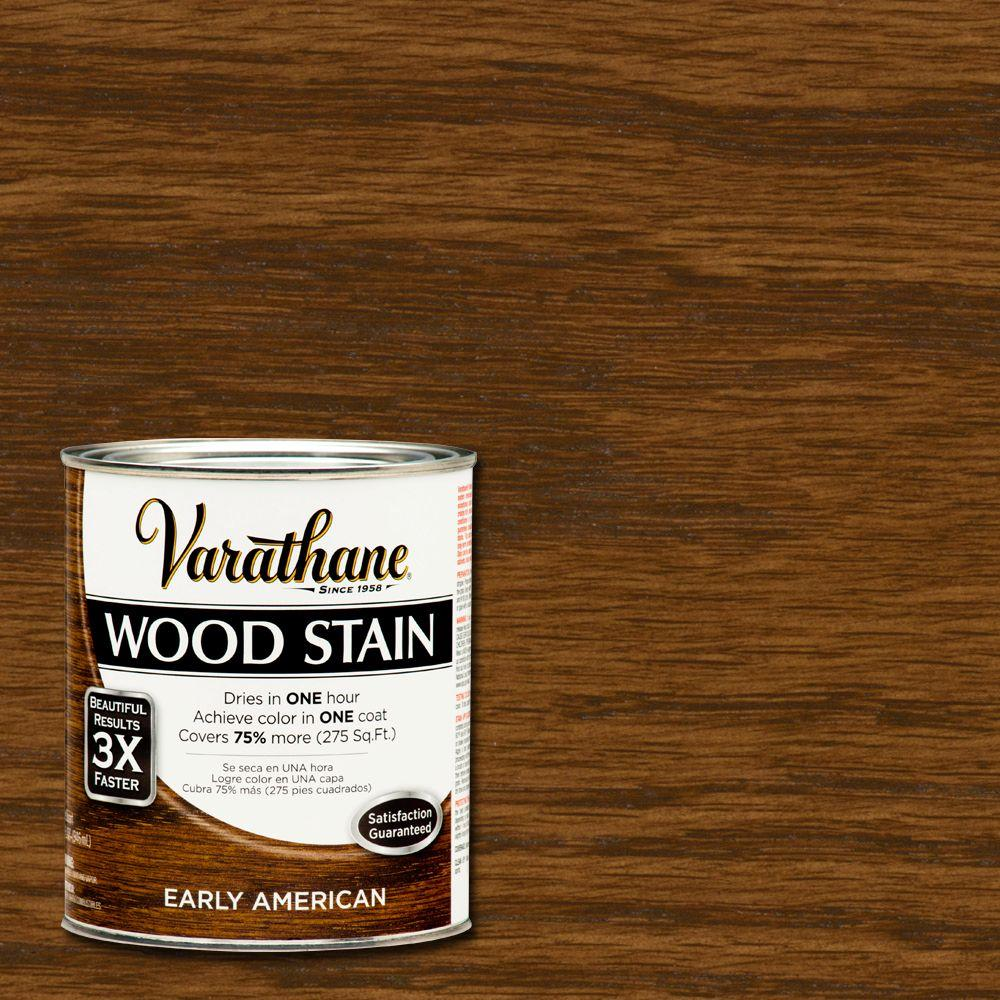 varathane 1 qt early american stain and polyurethane case of 2