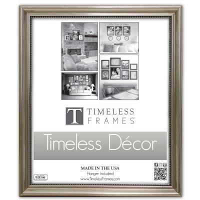d216b203239 Timeless Frames Lauren 1-Opening 11 in. x 14 in. Gold Matted Picture ...