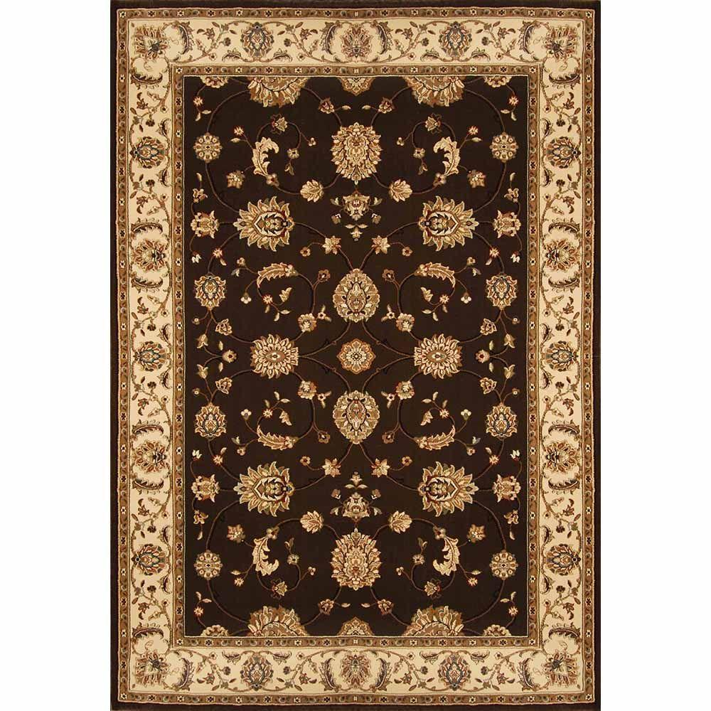 Home Dynamix Triumph Brown Beige 7 Ft 9 In X 10 Ft 2 In