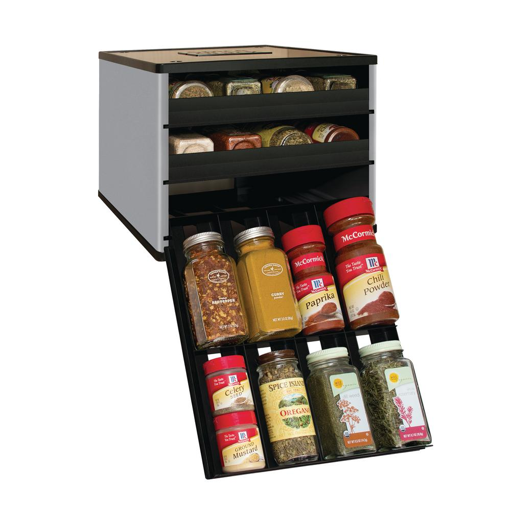 Youcopia Classic Spicestack 24 Bottle Spice Organizer In