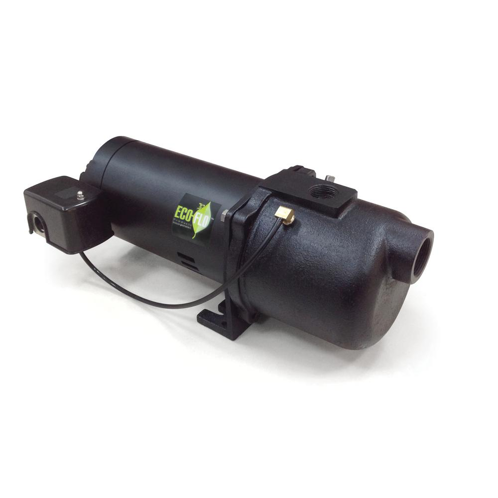 ECO FLO 1/2 HP Plastic Shallow Well Jet Pump