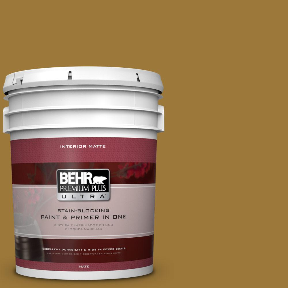 5 gal. #M300-7 Persian Gold Matte Interior Paint