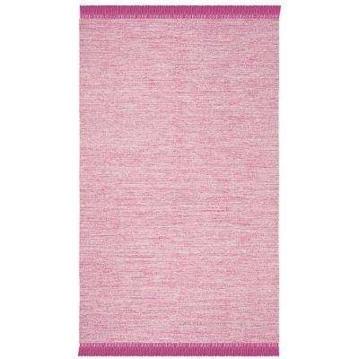 Montauk Pink 8 ft. x 10 ft. Area Rug