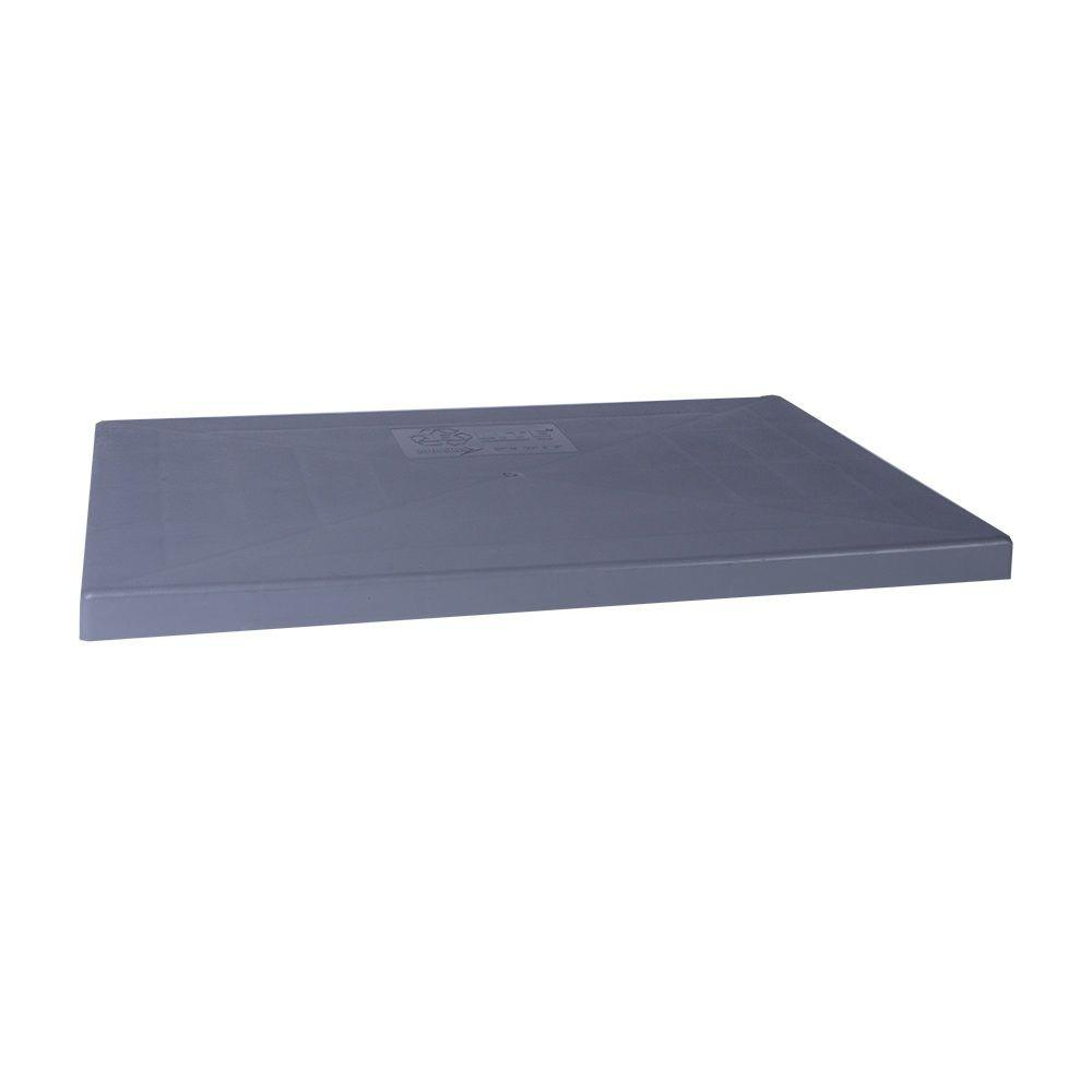 Diversitech e lite 18 in x 38 in x 3 in plastic for Outdoor ac unit pad