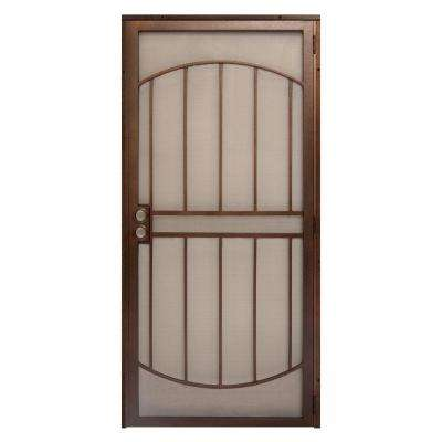 Arcada Steel Outswing Security Door with Expanded Metal Screen